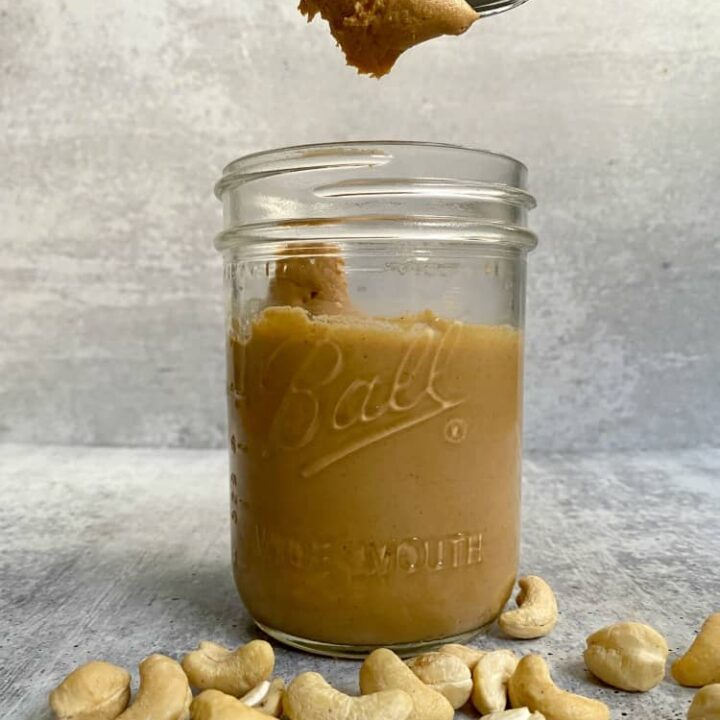 The Best Clean and Easy Cashew Butter Recipe