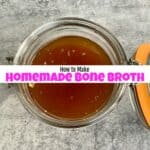 Making Homemade Bone Broth in the Ninja Foodi the Easy Way