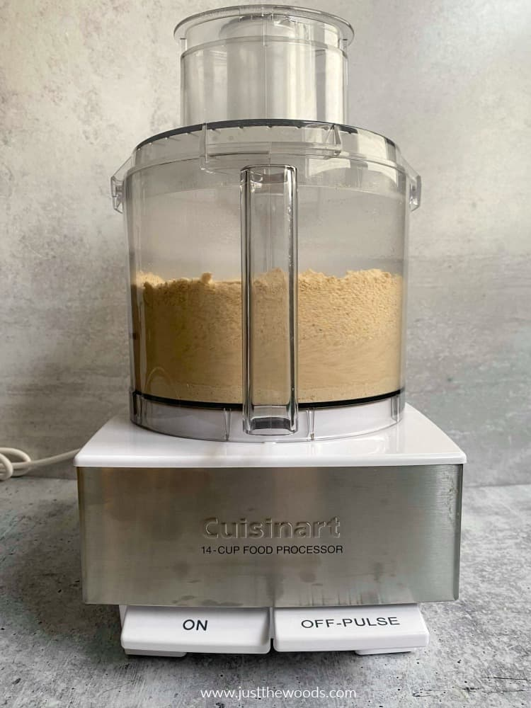 making cashew butter