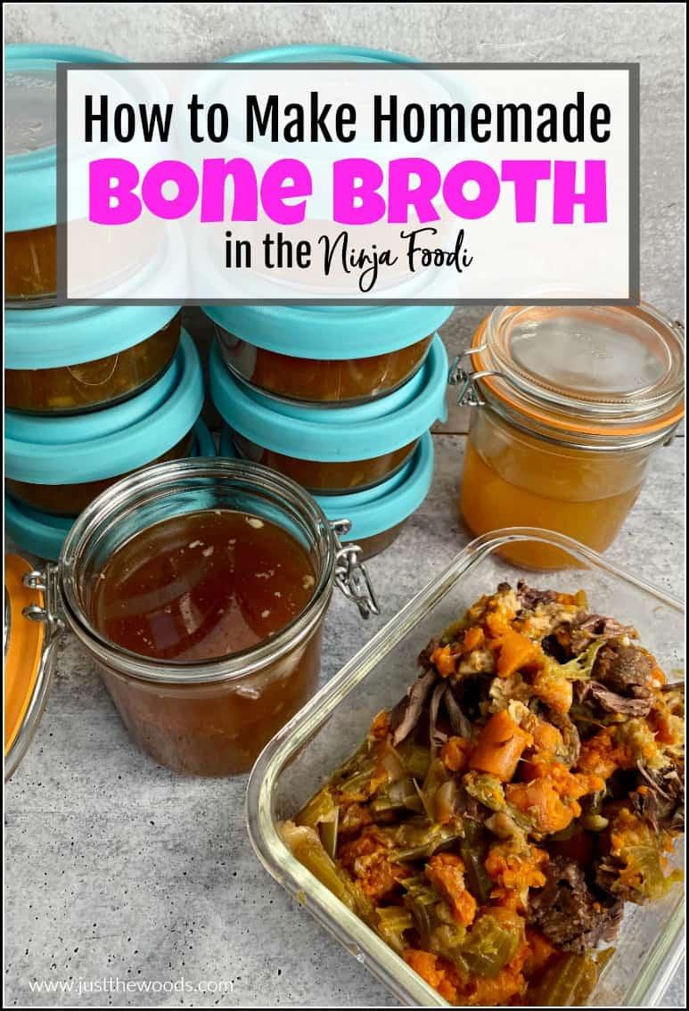ninja foodi bone broth recipe