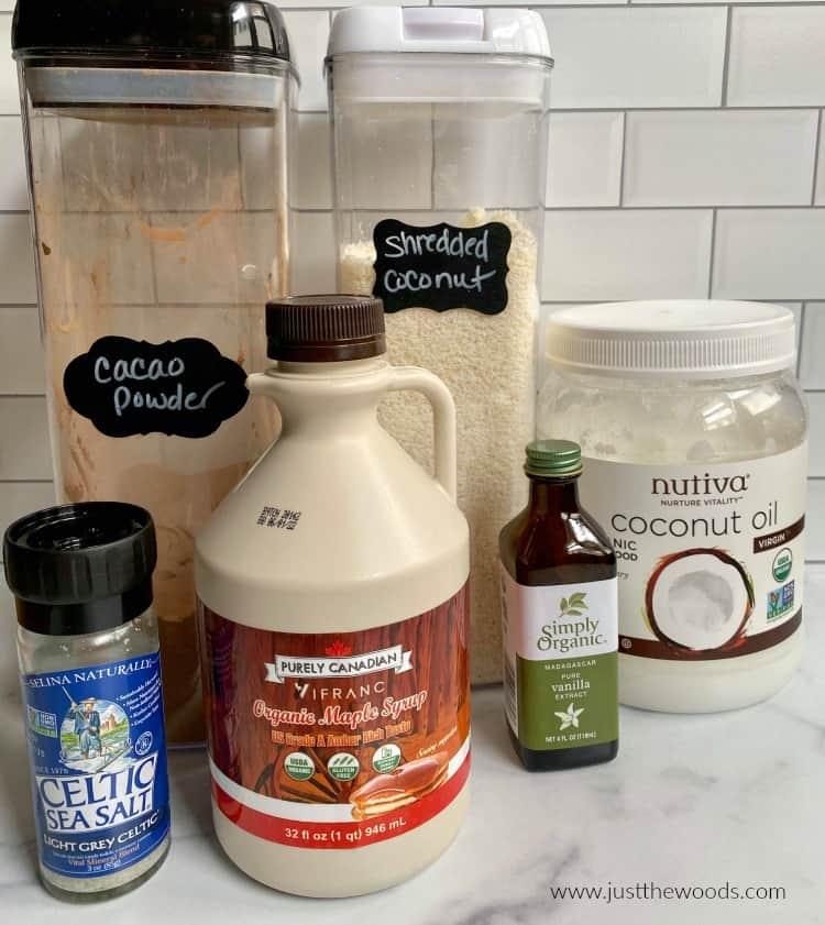 homemade macaroon ingredients