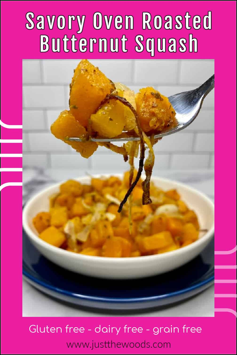 easy butternut squash in oven