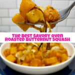 The Best Savory Oven Roasted Butternut Squash