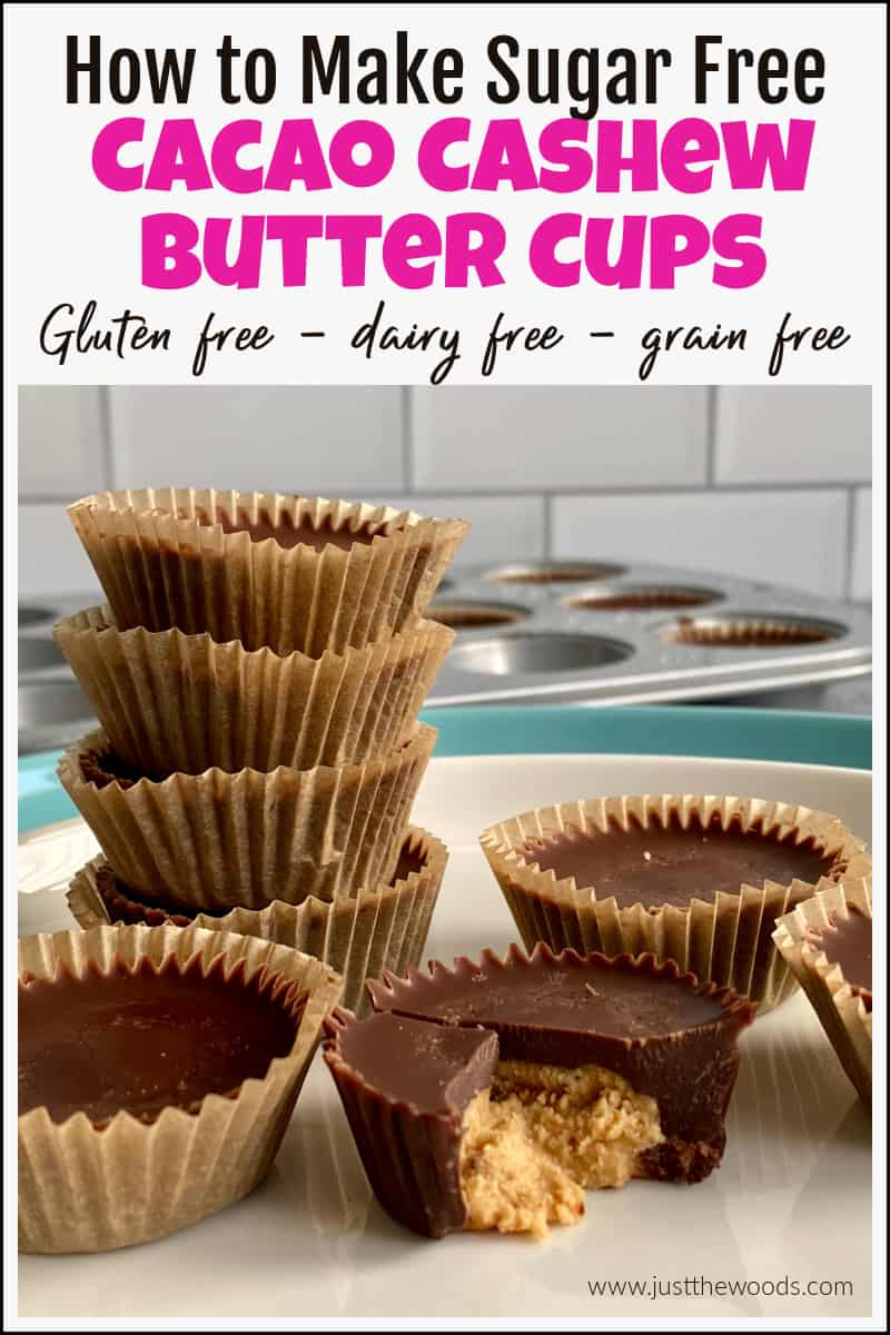 cacao cashew butter cups