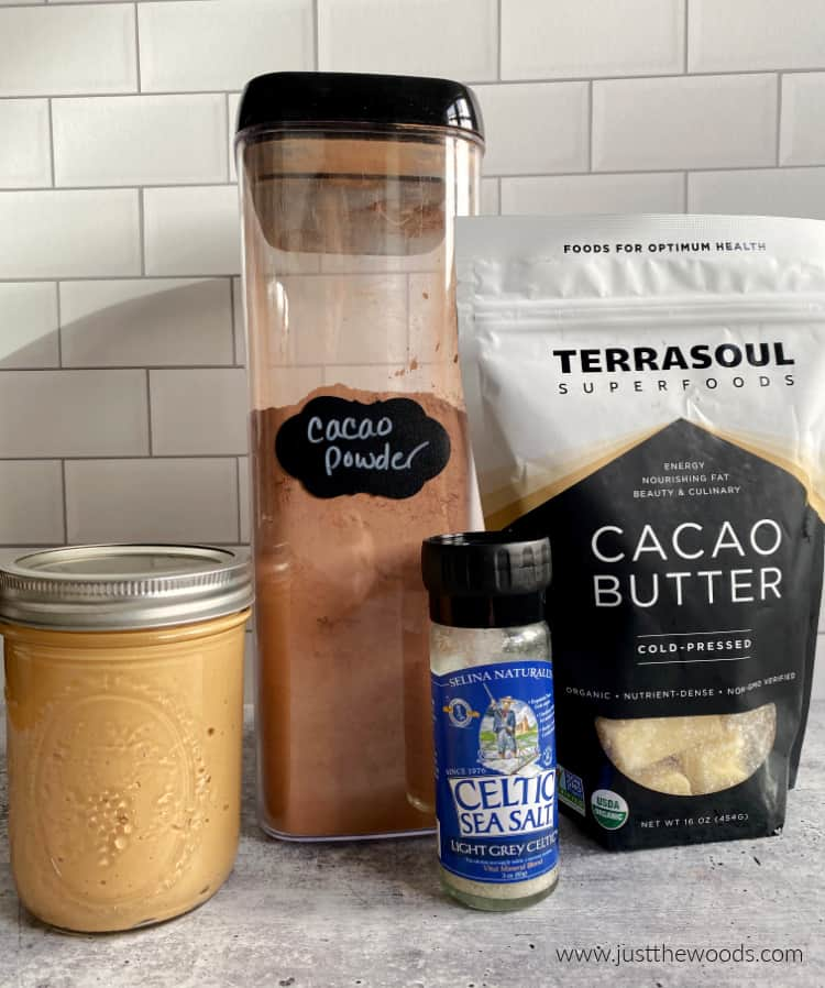 how to make chocolate cacao butter cups ingredients
