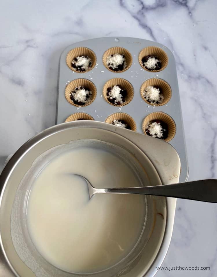 homemade coconut cups recipe
