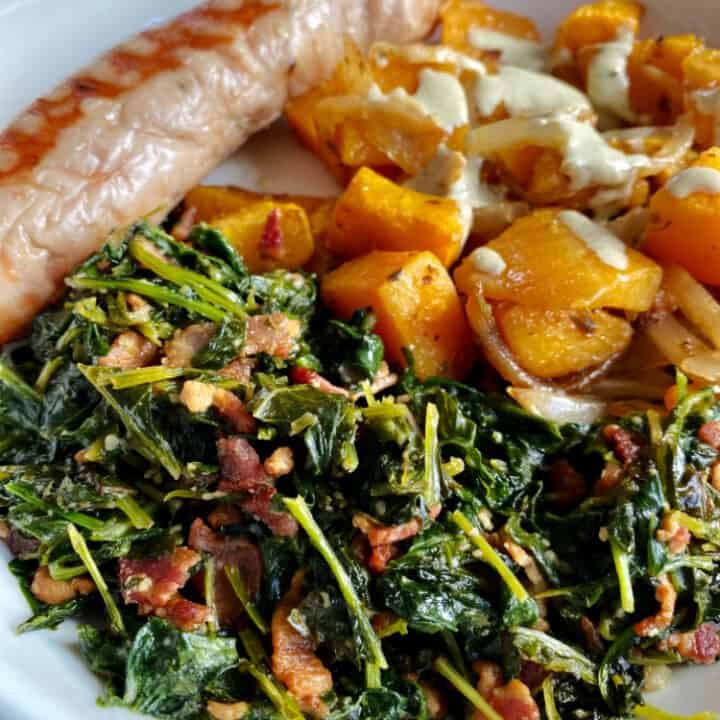 How to Make a Delicious Kale Side Dish with Bacon