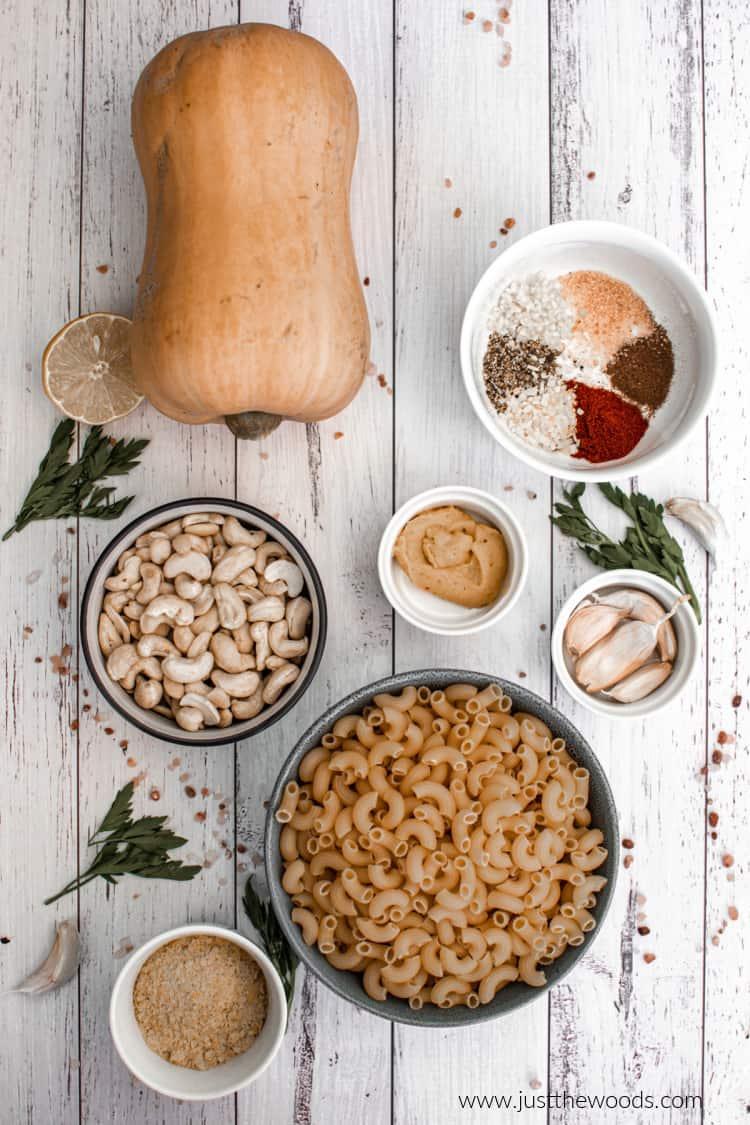 vegan macaroni and cheese ingredients
